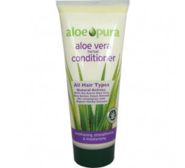 Aloe vera organic herbal conditioner