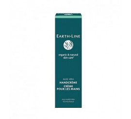 Earth Line Aloe vera hancreme tube
