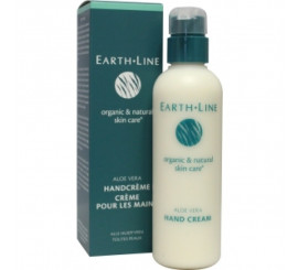 Earth-Line Aloe Vera handcreme met pomp 200ml
